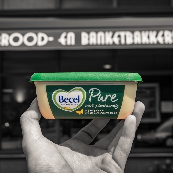 Becel Pure at bakeries