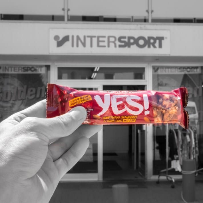 Yes! bij Intersport en Thermen